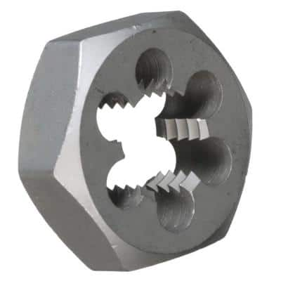 1-1/8 in.-16 Carbon Steel Hex Re-Threading Die