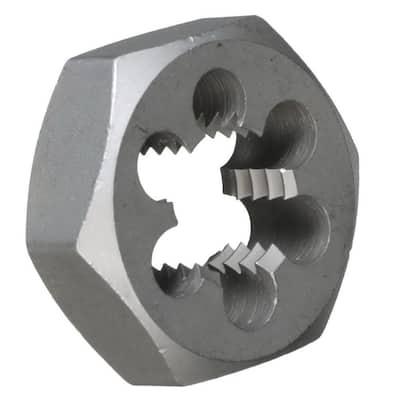 1-5/8 in.-18 Carbon Steel Hex Re-Threading Die