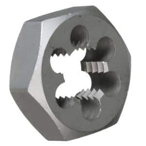 2-1/8 in.-8 Carbon Steel Hex Re-Threading Die