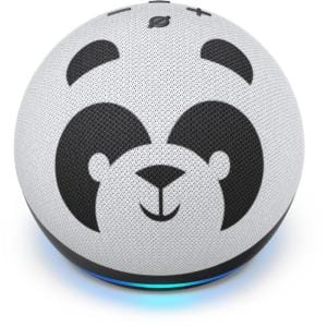 Amazon Echo Dot (4th Gen) Kids Edition Designed for Kids, with Parental Controls in Panda