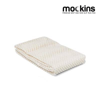 2 ft. x 3 ft. Premium Grip and Non-Slip Rug Pad in White