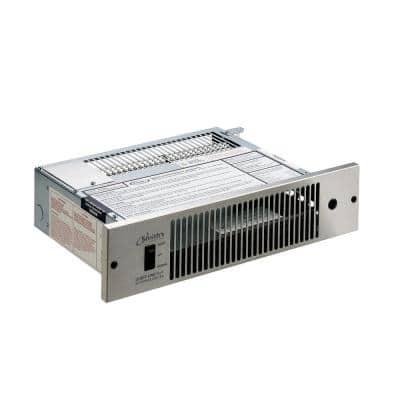 2000 Series 4,000 BTU Hydronic Kickspace Heater in Stainless Steel (Not Electric)
