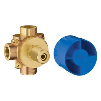 Concetto 1/2 in. 3-Way Pressure Balance Rough Valve