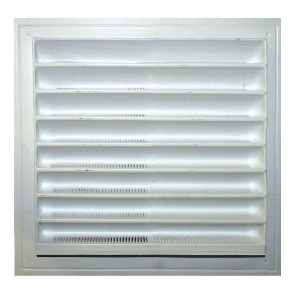 Fenêtre Vent Drain caps 18 double vitrage PVC Drainage couverture PVC Blanc FREEP /& P