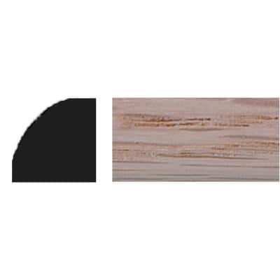3/8 in. x 3/8 in. x 48 in. Oak Quarter Round Moulding