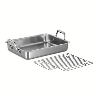 Gourmet Prima 5 Qt. Stainless Steel Roasting Pan