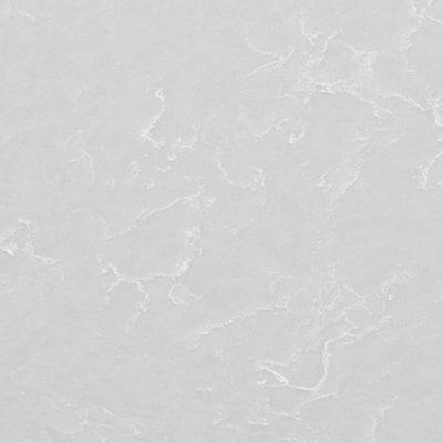 4 in. x 4 in. Quartz Countertop Sample in Smoked Pearl