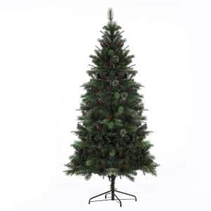 7 ft. Pre-Lit Artificial Christmas Tree