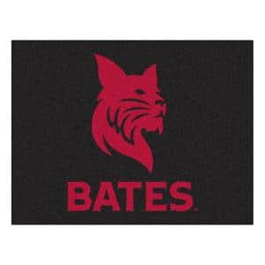 NCAA Bates College 34 in. x 43 in. All Star Mat Area Rug