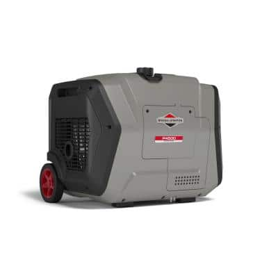 P4500 PowerSmart 4500-Watt Electric Start Gasoline Powered Inverter Generator with OHV Engine