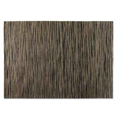 Shiro Beige and Black 5 ft. x 8 ft. Area Rug