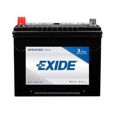 SPRINTER MAX 12 volts Lead Acid 6-Cell 86 Group Size 650 Cold Cranking Amps (BCI) Auto Battery