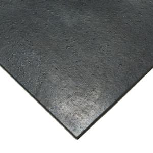 Nitrile 1/4 in. x 36 in. x 48 in. Commercial Grade 60A Black Buna Sheets
