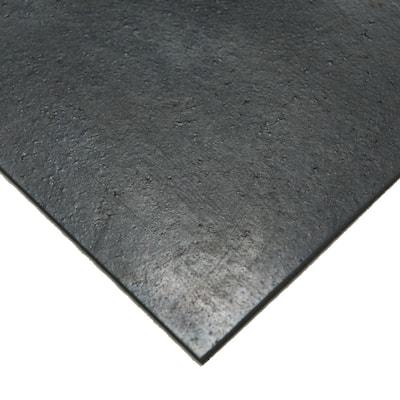 Nitrile 3/8 in. x 12 in. x 12 in. Commercial Grade 60A Black Buna Sheets