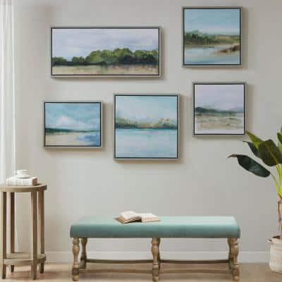 Vista 5-Piece MultiFramed Embellished Canvas Gallery Set
