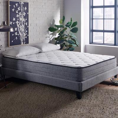 10 in. Firm Memory Foam and Innerspring Pillow Top CertiPUR-US Foam Twin XL Hybrid Mattress