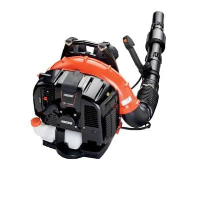 214 MPH 535 CFM 63.3 cc Gas 2-Stroke Cycle Backpack Leaf Blower with Tube Throttle