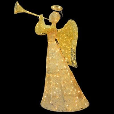 60 in. Angel Decoration with LED Lights