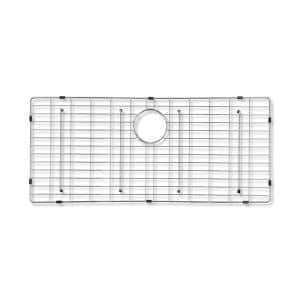 Bremen 29-3/4 in. x 15-5/8 in. Wire Grid for Single Bowl Kitchen Sinks in Stainless Steel
