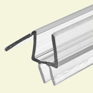 3/8 in. x 36 in., Frameless Shower Door, Bottom Seal