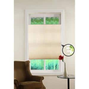 Top Down/Bottom Up Ivory Cordless Cellular Shade - 31 in. W x 64 in. L