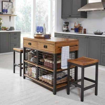 6 Kitchen Islands Kitchen Dining Room Furniture The Home Depot