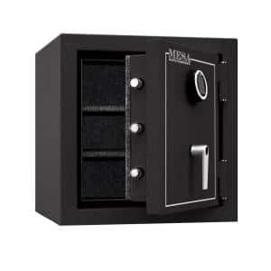 3.3 cu. ft. All Steel Burglary and Fire Safe with Electronic Lock, Hammered Grey