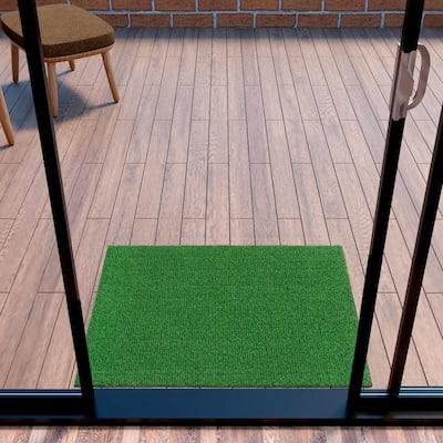 Evergreen 2 ft. x 3 ft. Green Artificial Grass Area Rug