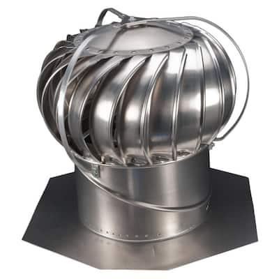 12 in. Mill Aluminum Externally Braced Whirlybird Wind Turbine