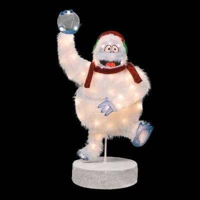 36 in. Bumble Outdoor Lighted Christmas Decor, Swivels