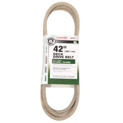 Original Equipment Deck Drive Belt for Select 42 in. Front Engine Riding Lawn Mowers OE# 954-04060