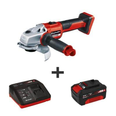 PXC 18-Volt Cordless 5 in. Brushless 8500 RPM Angle Grinder/Cutoff Tool Kit (w/ 3.0-Ah Battery and Fast Charger)