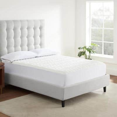 Air Dry Basic Comfort Medium Standard Polyester Queen Mattress Pad