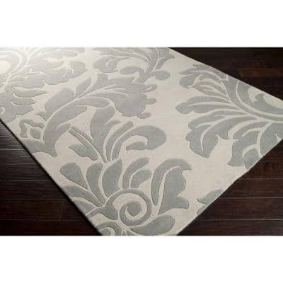 Bellaire Dark Gray 2 ft. x 4 ft. Hearth Indoor Area Rug