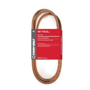 Original Equipment Deck Drive Belt for Select 46 in. Front Engine Riding Lawn Mowers OE# 954-05087, 754-05087