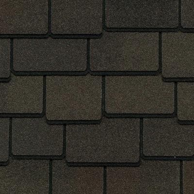 Woodland Woodberry Brown Designer Laminated Architectural Shingles (25 sq. ft. per Bundle) (14-pieces)