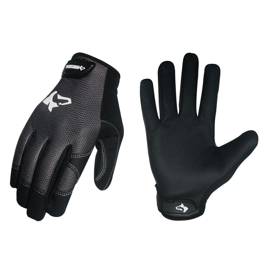 Husky Medium Light Duty Mechanic Glove 3 Pack Pu8842 3pk M Ol The Home Depot