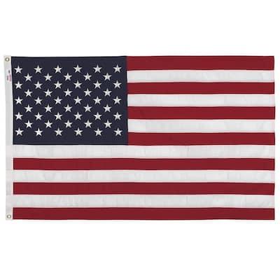3 ft. x 5 ft. Polyester U.S. Flag