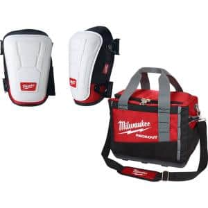 Non Marring Performance Knee Pad with PACKOUT Tool Bag