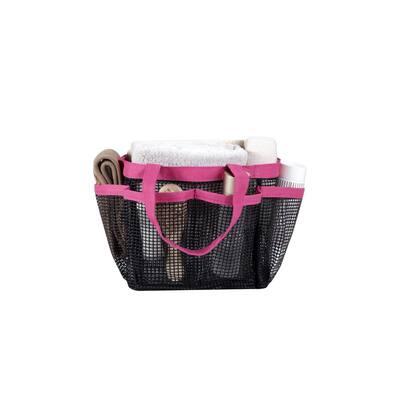 All Purpose Mesh Tote Bag in Pink