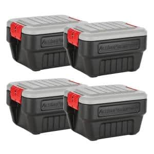 8 Gal. Action Packer Storage Bin (4-Pack)