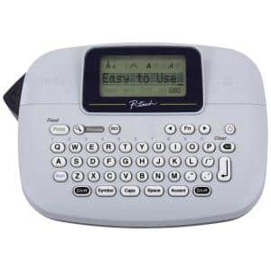 P-Touch Monochrome Label Maker, White