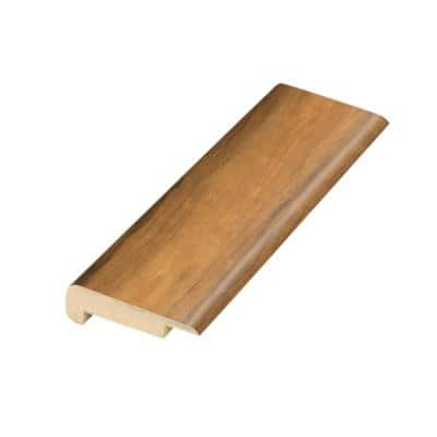 Applewood .75 in. Thick x 2.36 in. Wide x 78.7 in. Length Laminate Stairnose Molding