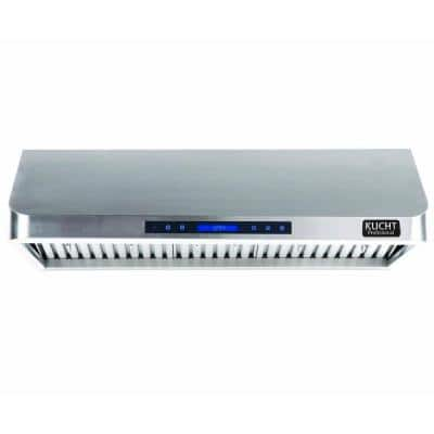 Professional 36 in. Under Cabinet Range Hood with Light in Stainless Steel