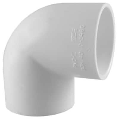 3/4 in. PVC 90-Degree Elbow Socket x Socket (35-Pack)