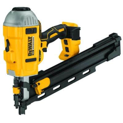 20-Volt MAX XR Lithium-Ion Cordless Brushless 2-Speed 21° Plastic Collated Framing Nailer (Tool Only)