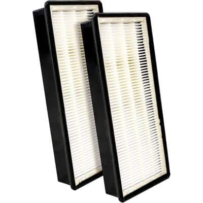 10 in. x 4.75 in. x 1.38 in. Replacement HEPA Filter Fits N Honeywell Air Purifier Models (2-Pack)