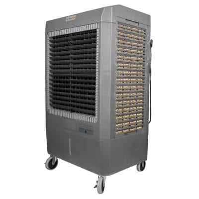 Reconditioned 5300 CFM 3-Speed Portable Evaporative Cooler (Swamp Cooler) for 1600 sq. ft.