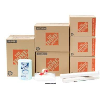 6-Box Dining Room Moving Box Kit