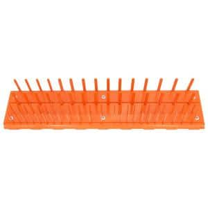 18 in. W Steel 76 Pin Socket Holder for RX and DX Series Extreme Power Workstation Hutches in Orange